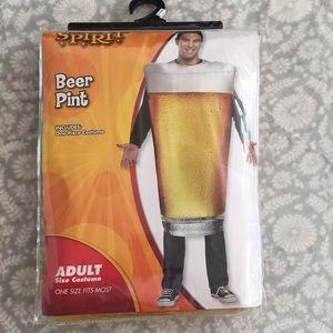 Spirit Halloween Beer Pint Costume